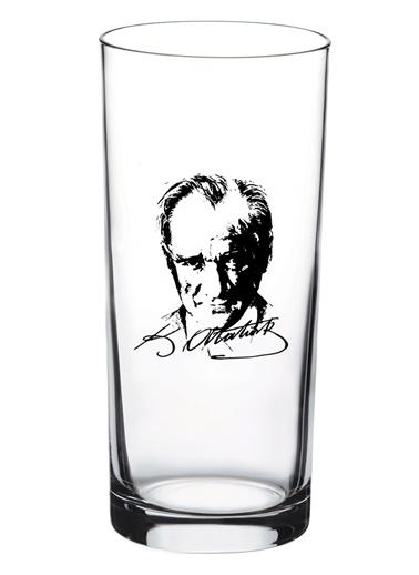 Atatürk Resimli 6'Lı Rakı Bardağı-Joy Glass